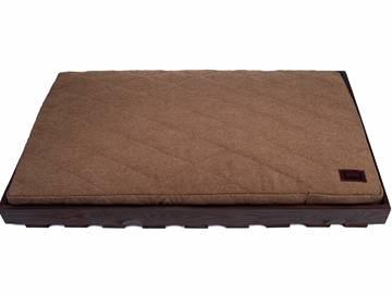 Лежак для собаки крупной породы brown + cacao фото
