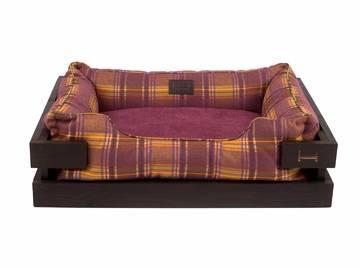 Лежак dreamer brown + london violet с деревянным каркасом по цене 0 грн.