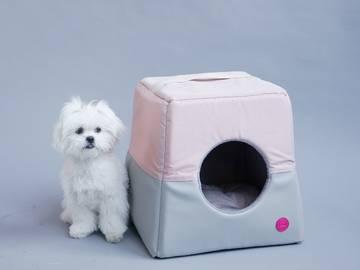 Домик для собаки мягкий фото