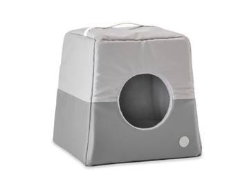 Домик-лежак два в одном для собак и кошек cabrio grey фото