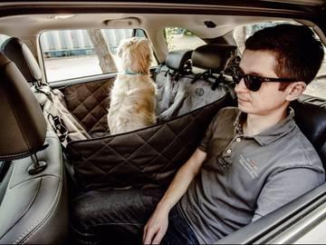 Автогамак для собак в машину saver фото