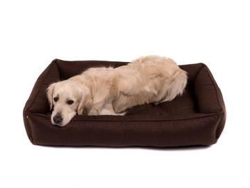 Лежак для больших собак sofa brown xl (110cm*70cm) без деревянного каркаса по цене 0 грн.