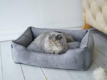 Купить лежак для кошки фото