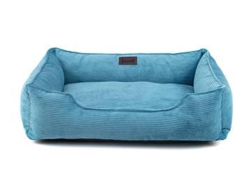 Лежак для котов dreamer blue velvet фото
