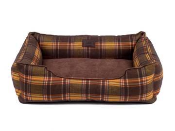 Лежак для котов dreamer london brown без деревянного каркаса по цене 0 грн.