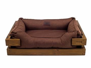 Лежак для собак элитный с деревянным каркасом по цене 0 грн.