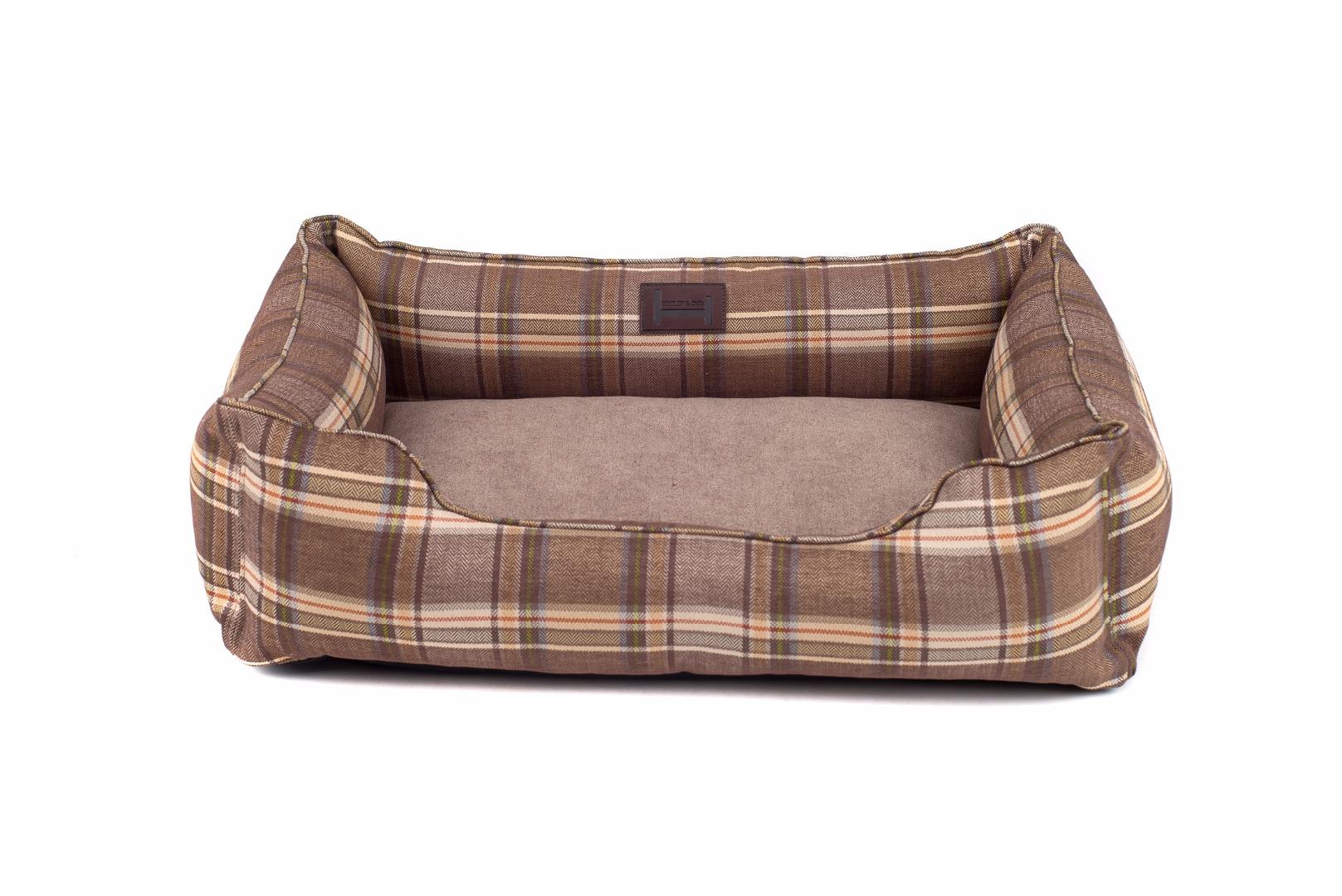 лежак для собаки зеленый